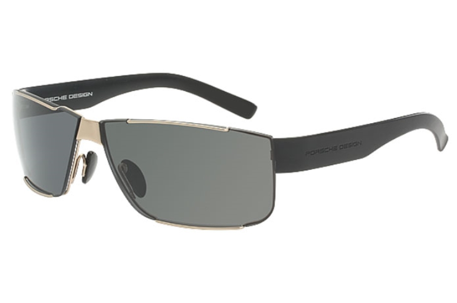 Porsche Design P 8509 Sunglasses in B Dark Gun/Blue