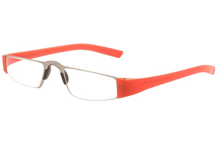 Porsche Reading Tool P 8801 Eyeglasses in (O) Coral