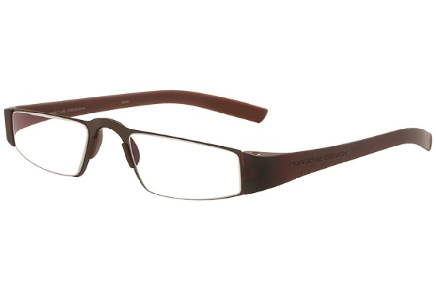 Porsche Reading Tool P 8801 Eyeglasses in (E) Dark Brown