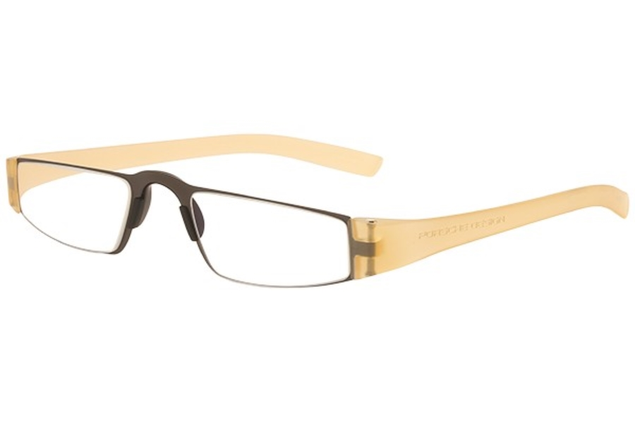 Porsche Reading Tool P 8801 Eyeglasses in (K) Transparent Gold