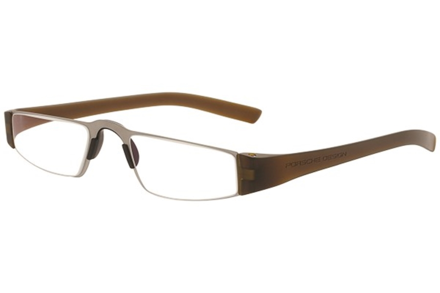 Porsche Reading Tool P 8801 Eyeglasses in (L) Light Brown