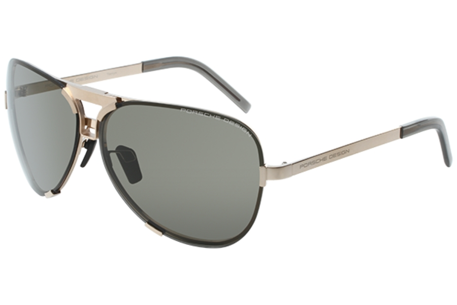 95bc7e783b4e ... Porsche Design P 8678 Sunglasses in C Gold   Brown Grey ...