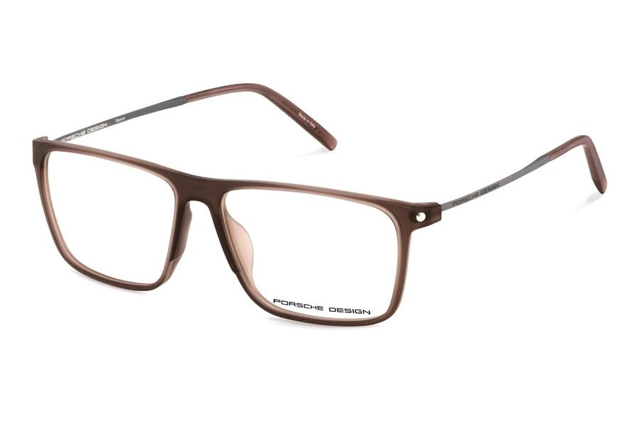 Authentic Porsche Design P 8334 A Black Eyeglasses