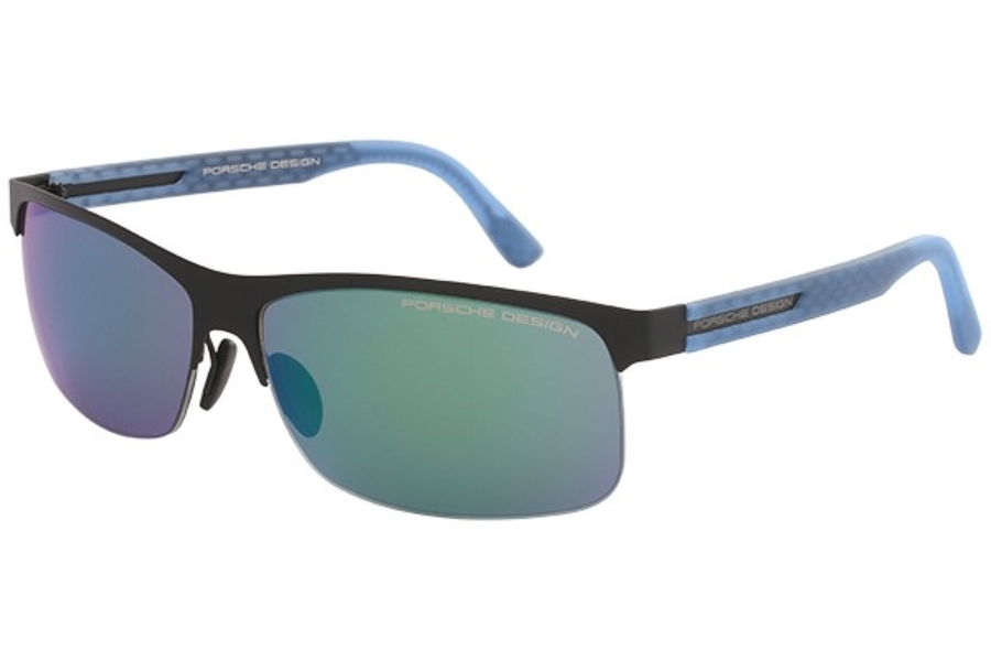 12e339cf4b81 Porsche Design P 8584 Sunglasses in E Black