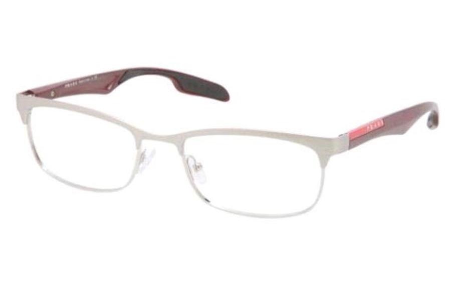 Prada Sport PS 54DV Eyeglasses in KAN1O1 Silver/Demi Shiny