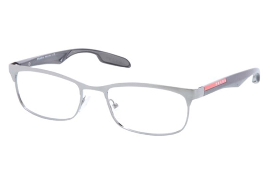 Prada Sport PS 54DV Eyeglasses in LAI1O1 Gunmetal/Brushed Gunmetal