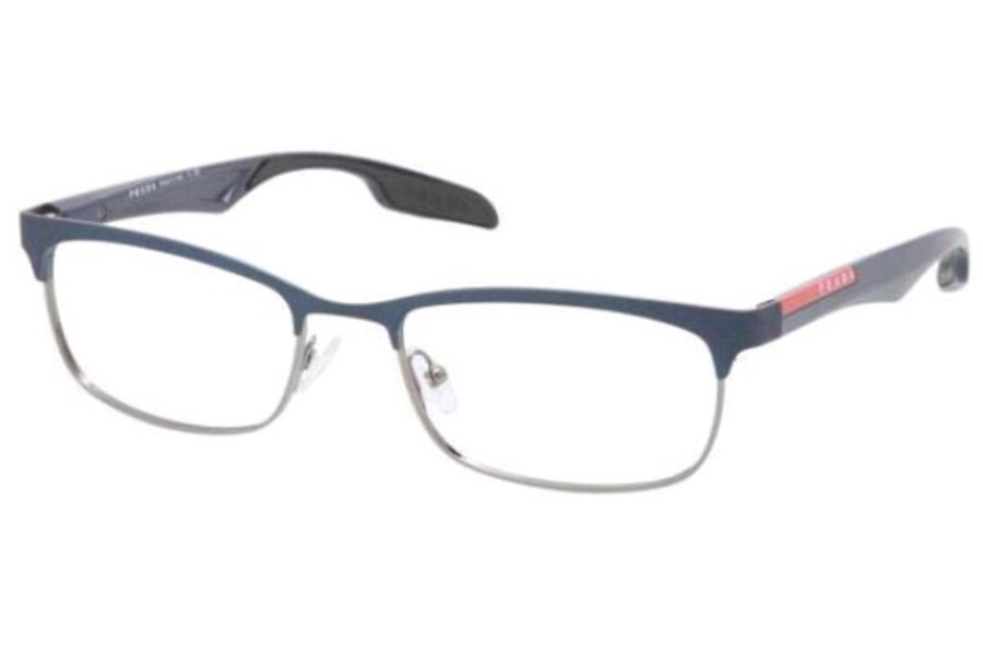 Prada Sport PS 54DV Eyeglasses in MA01O1 Gunmetal/Demi Shiny