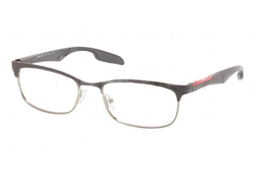 Prada Sport PS 54DV Eyeglasses in MA71O1 Grey On Military