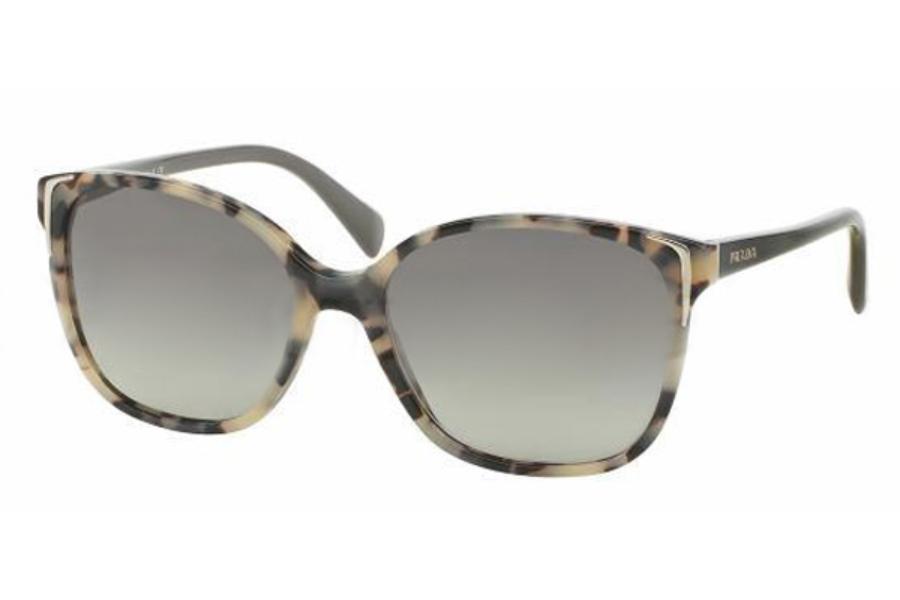 f0a0bc3b16664 ... Prada PR 01OS Sunglasses in KAD3M1 White Havana Grey Gradient ...