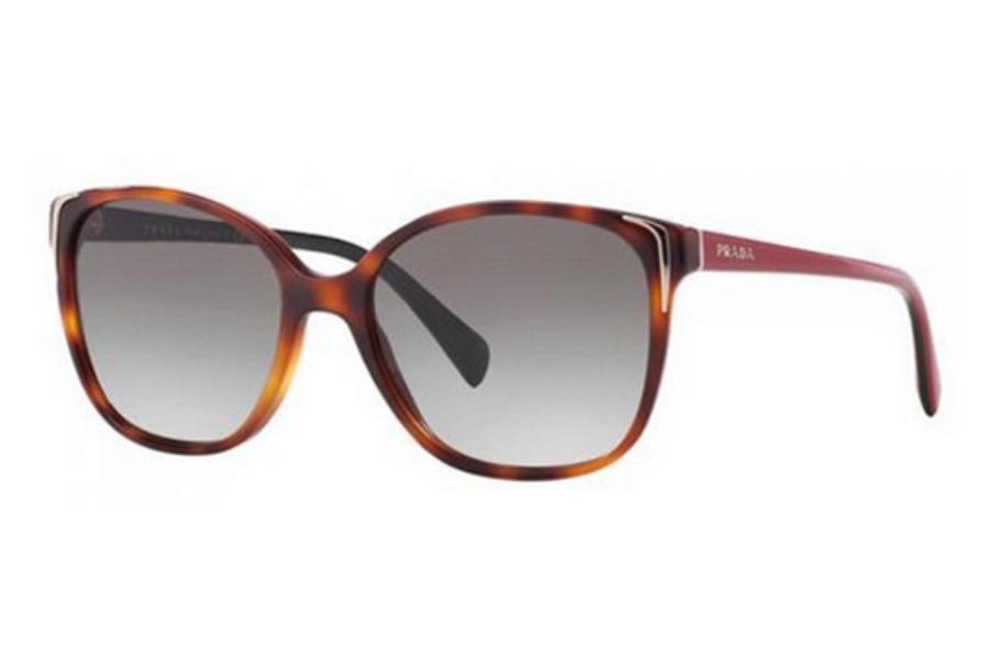 0f0531750de18 ... Havana Ears Bord Yellow   Grey Gradient Grey  Prada PR 01OS Sunglasses  in Prada PR 01OS Sunglasses ...