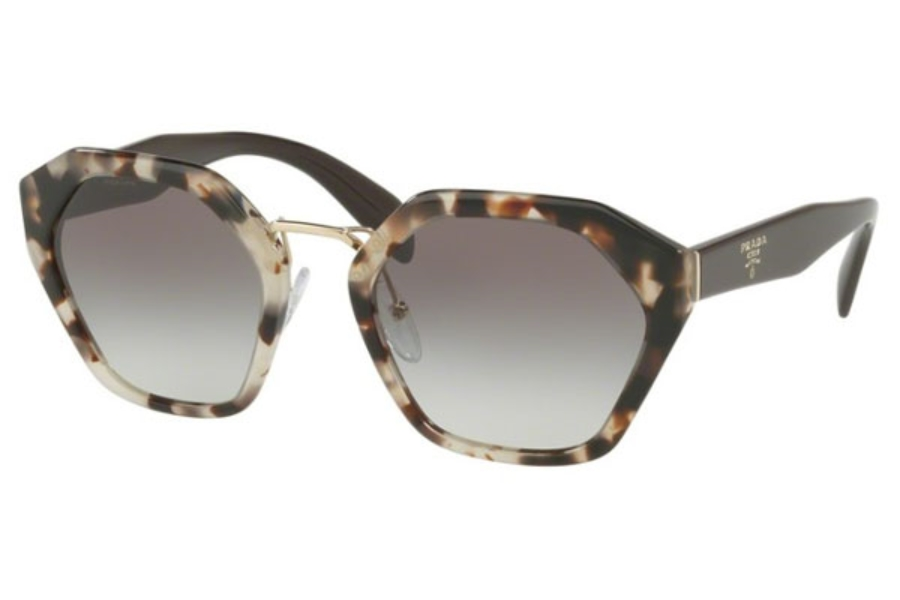 c18bb18cbd8 ... Prada PR 04TS Sunglasses in UAO0A7 Spotted Opal Brown   Grey Gradient  ...