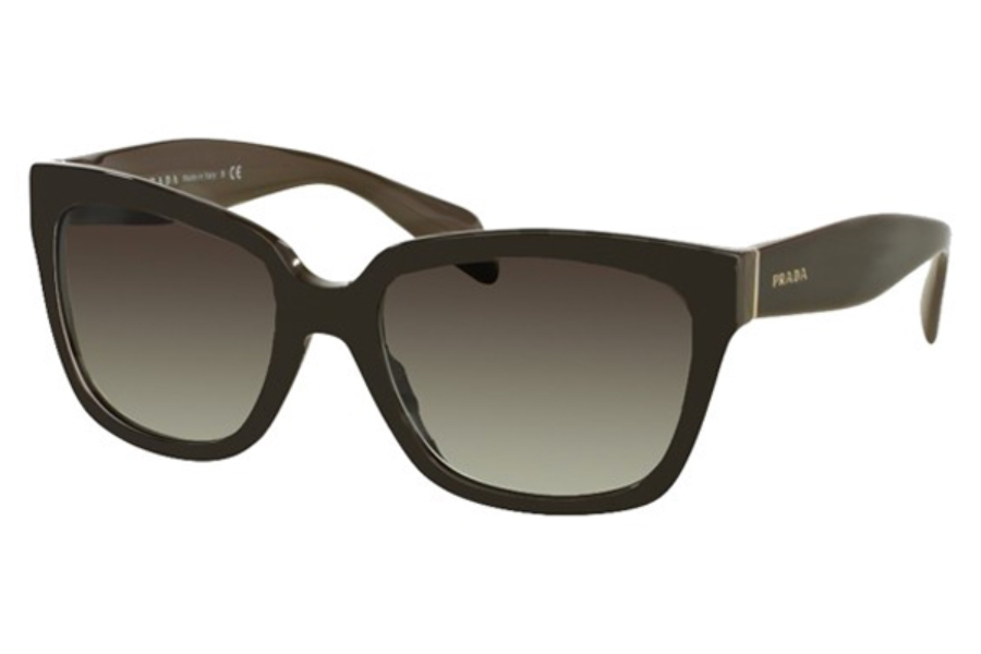 96c9520de04 Prada PR 07PS Sunglasses in UAM0A7 Opal Brown On Brown   Grey Gradient ...