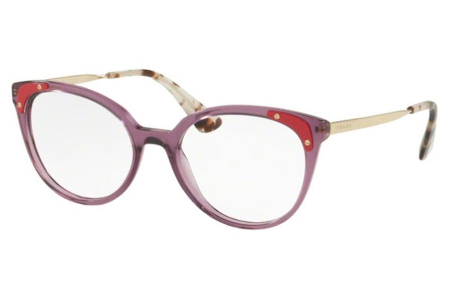 b38a6e6379db ... Spotted Opal Brown; Prada PR 12UV Eyeglasses in Prada PR 12UV Eyeglasses  ...