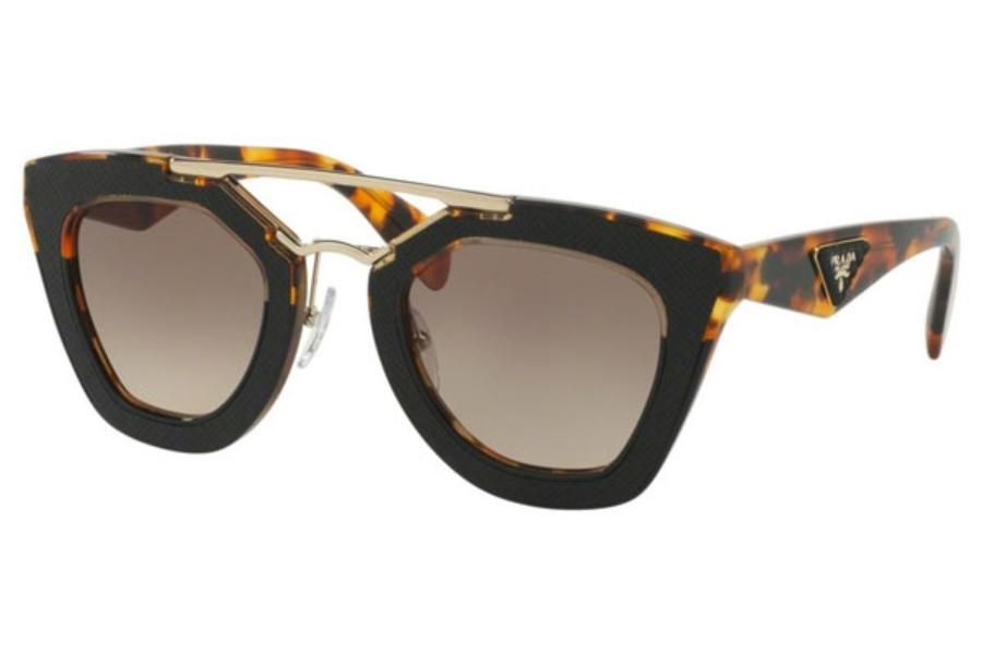 20e41cba94d6 ... Prada PR 14SS Sunglasses in VHA3D0 Medium Havana Black   Brown Gradient  ...