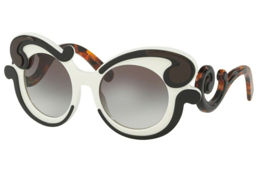 a8f1cbdef67b8 ... Grey  Prada PR 23NS MINIMAL BAROQUE Sunglasses in Prada PR 23NS MINIMAL  BAROQUE Sunglasses ...