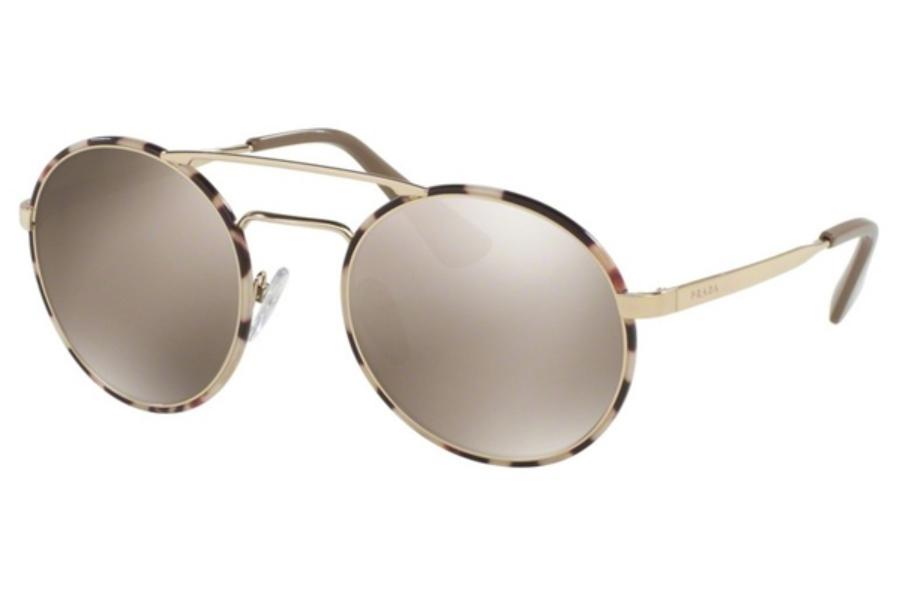 aa1531a3ef01b ... Prada PR 51SS Sunglasses in UAO1C0 Pale Gold Tortoise   Light Brown  Mirror Gold  Prada PR 51SS Sunglasses in VHS2D2 Silver Orange   Grey ...