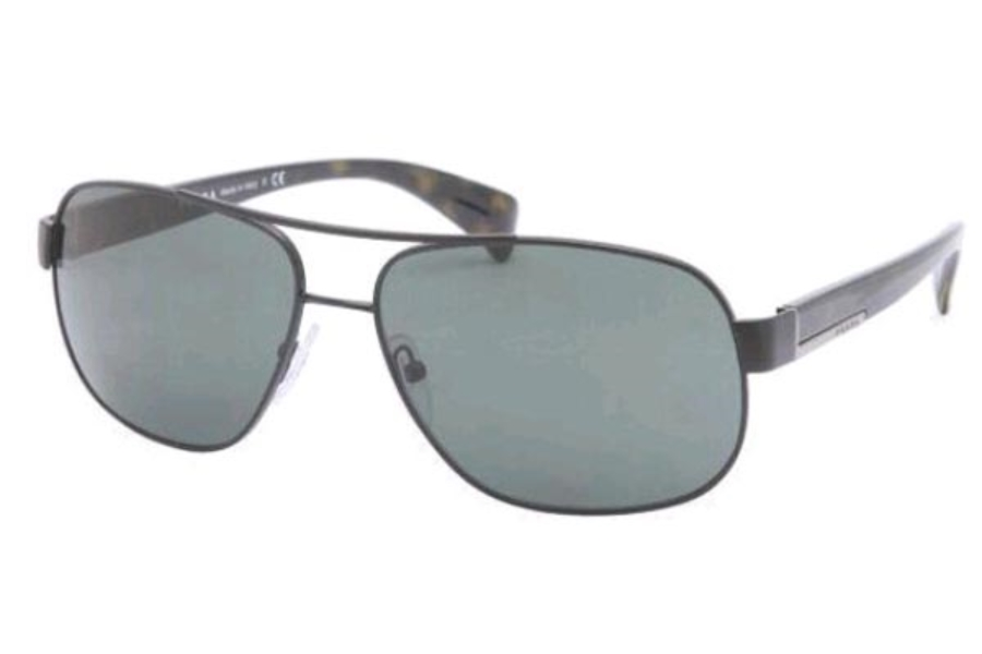 58c72f9672 ... Gunmetal Polar Gray  Prada PR 52PS Sunglasses in Prada PR 52PS  Sunglasses ...
