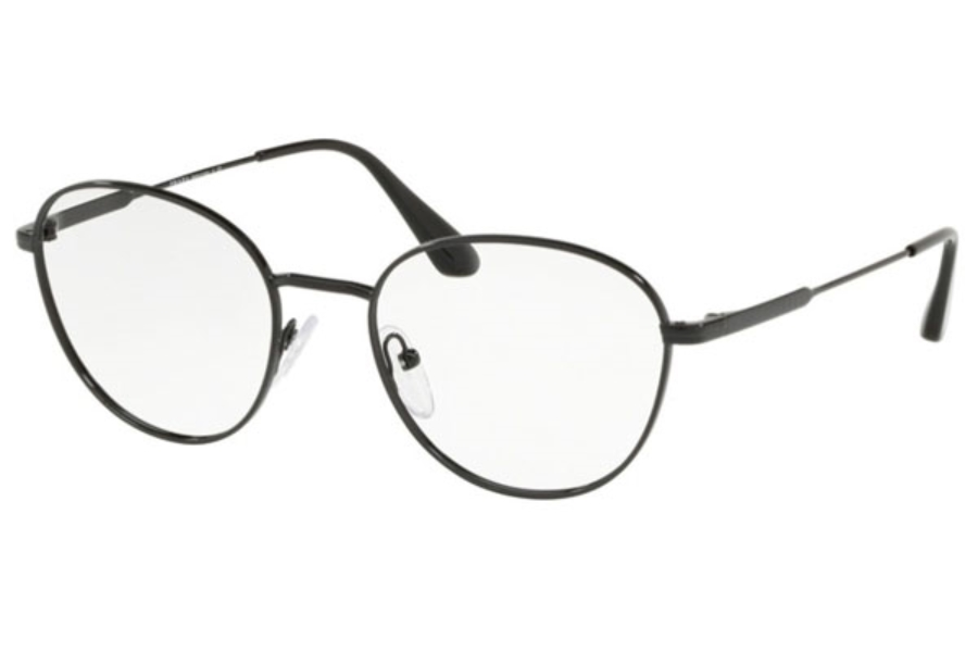 Prada PR 52VV Eyeglasses in 1AB1O1 Black