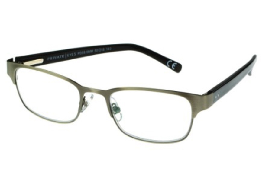 Private Eyes Readers FLETCH PE230 READERS Readers in Gunmetal