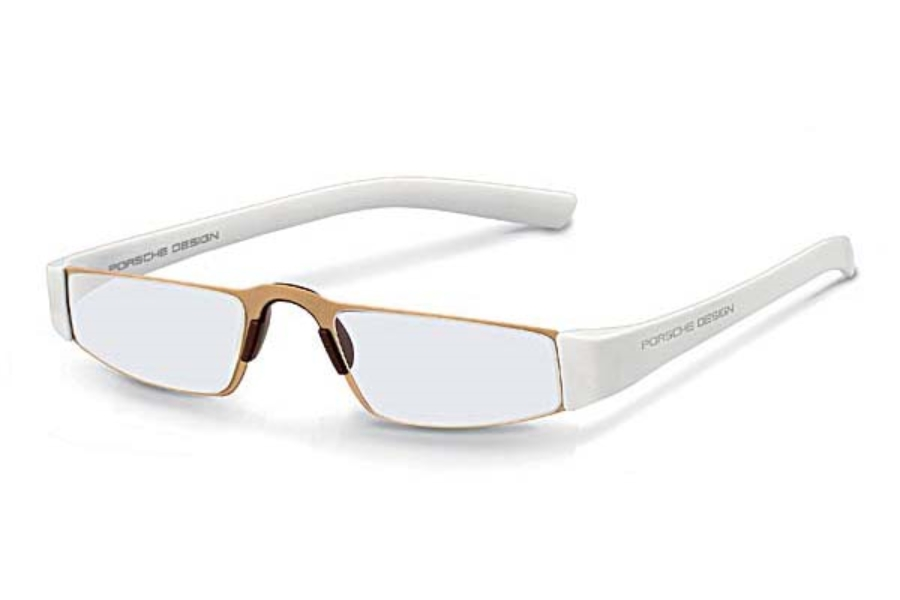 Porsche Reading Tool P 8801 Eyeglasses in (C) White