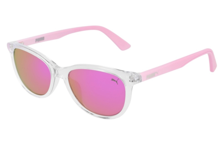 Puma PJ0022S Sunglasses in 006 Crystal / Pink