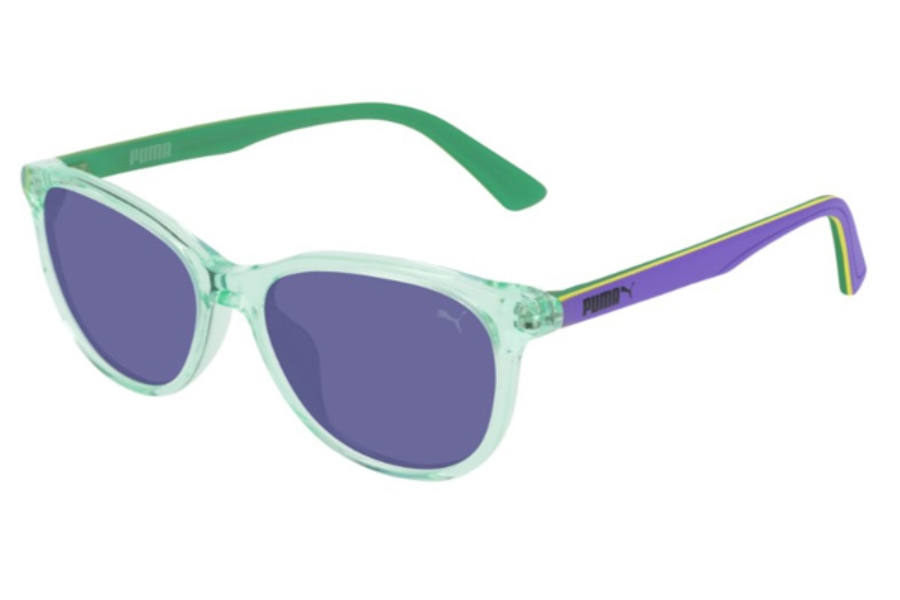 Puma PJ0022S Sunglasses in 011 Light-Blue / Blue