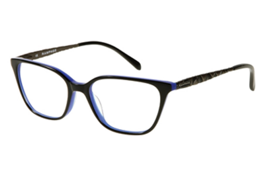 Rampage R 175 (RA0175) Eyeglasses in B84 BLK Black/Navy