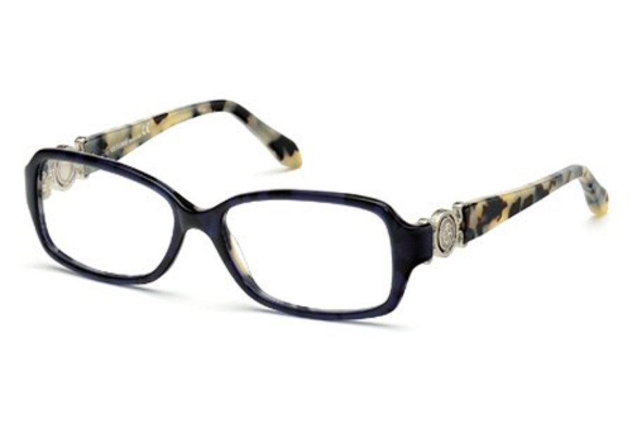 Roberto Cavalli RC0714 Eyeglasses in 56A Havana/Other / Smoke