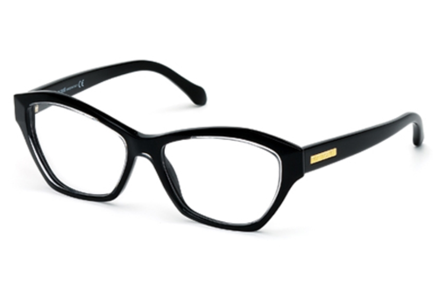 Roberto Cavalli RC0757 Eyeglasses in 005 Black/Other