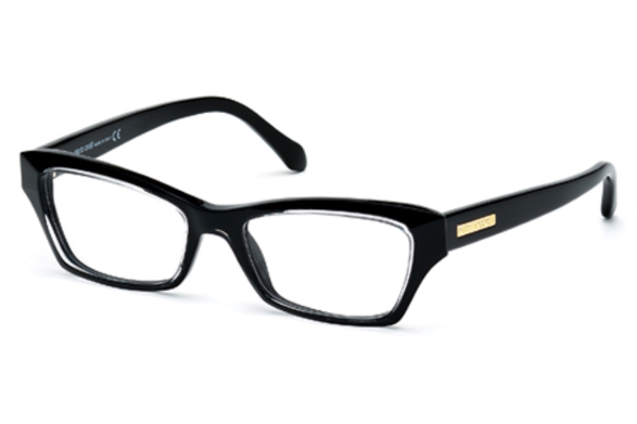 Roberto Cavalli RC0758 Eyeglasses in 005 Black/Other