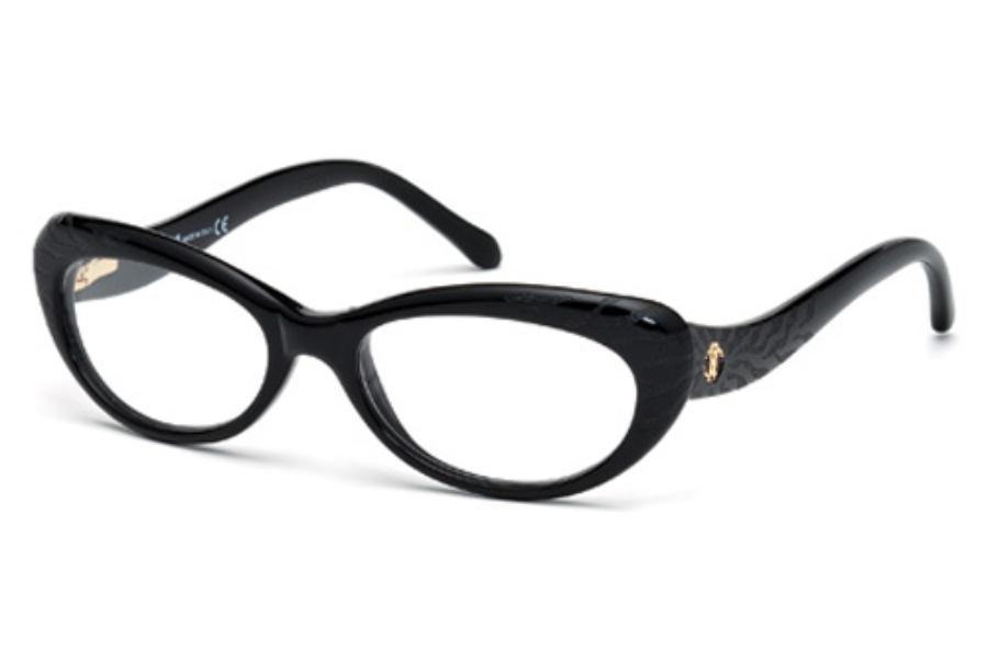 Roberto Cavalli RC0778 Eyeglasses in 001 Shiny Black