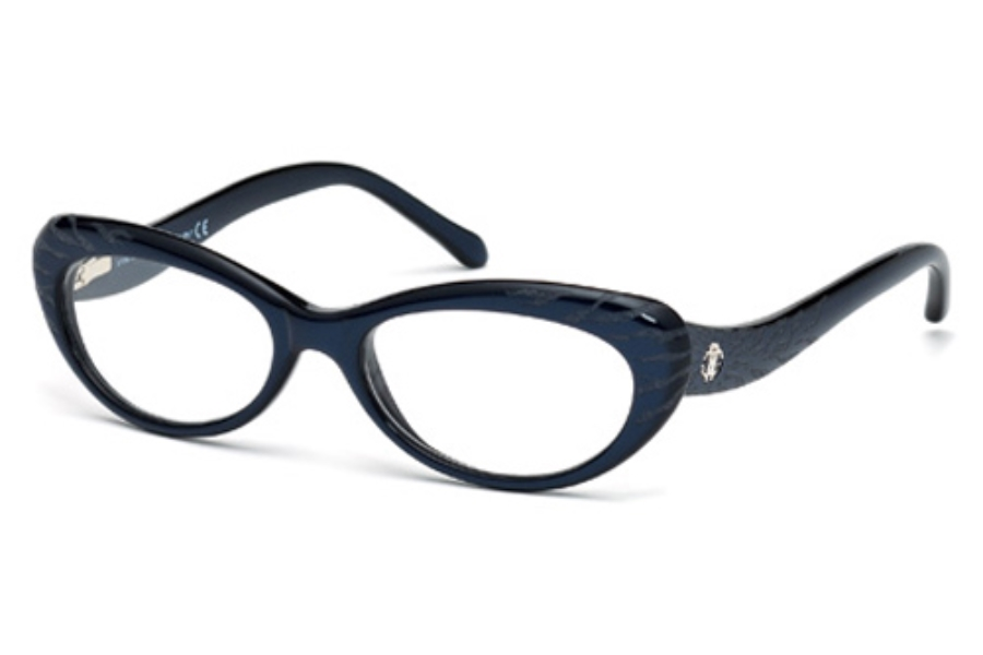 Roberto Cavalli RC0778 Eyeglasses in 090 Shiny Blue