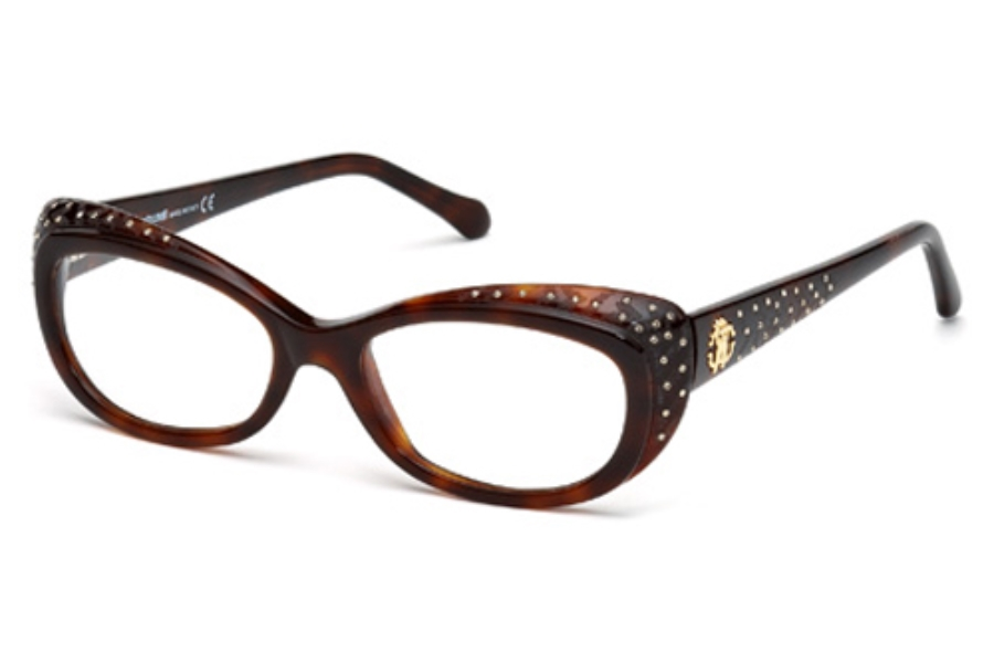 Roberto Cavalli RC0780 Eyeglasses in 052 Dark Havana