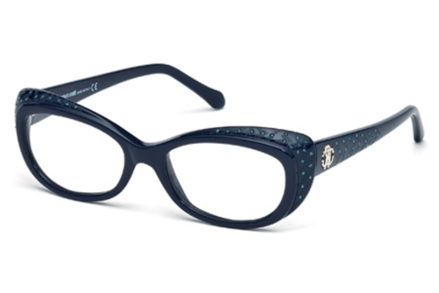 Roberto Cavalli RC0780 Eyeglasses in 090 Shiny Blue