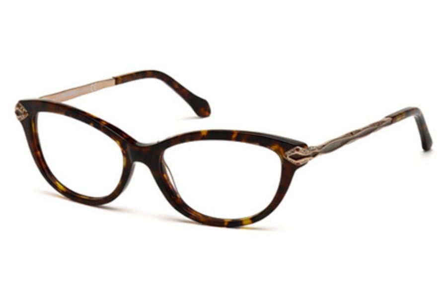 Roberto Cavalli RC0813 Eyeglasses in 052 Dark Havana