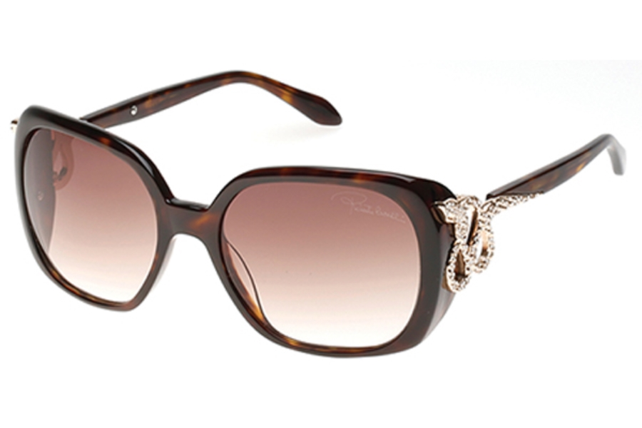 Roberto Cavalli RC925S-A Sunglasses in 52F - Dark Havana / Gradient Brown