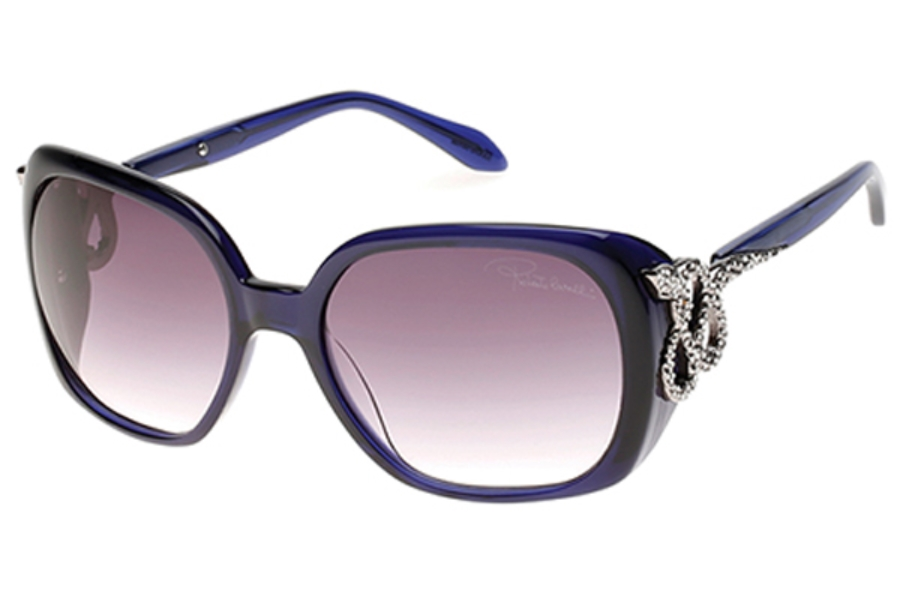 Roberto Cavalli RC925S-A Sunglasses in 92B - Blue/Other / Gradient Smoke