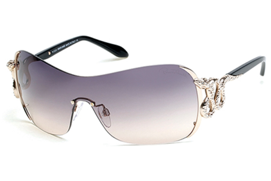 Roberto Cavalli RC926S-A Sunglasses in 28B - Shiny Rose Gold / Gradient Smoke