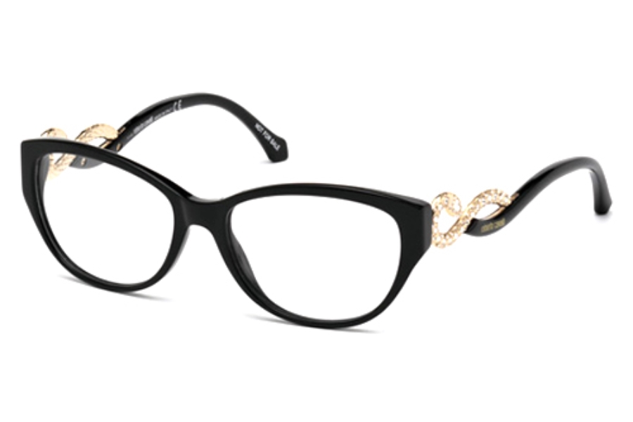 Roberto Cavalli RC0938 Eyeglasses in 001 Shiny Black