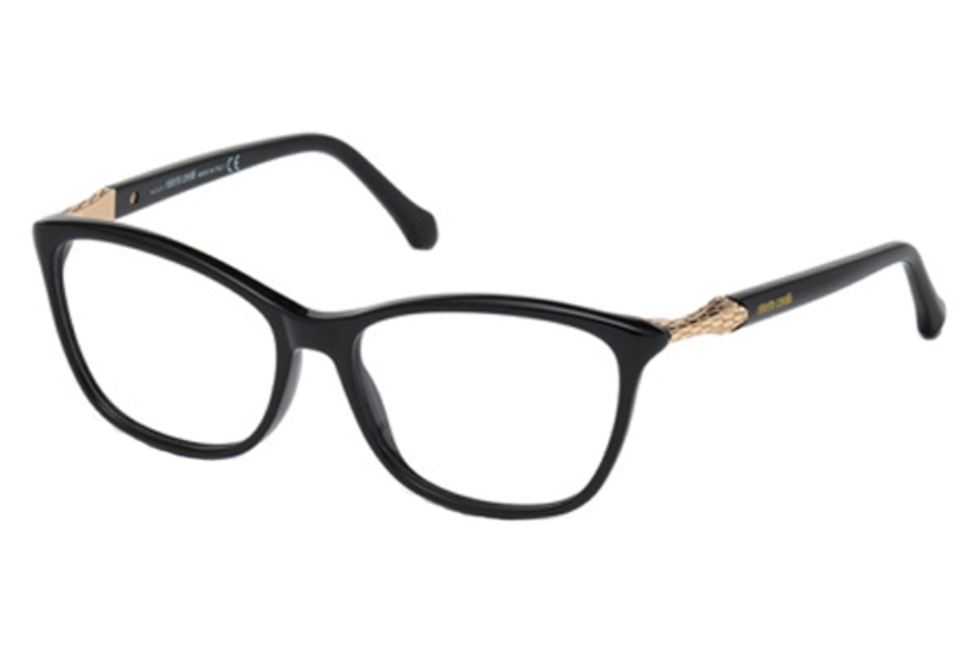 Roberto Cavalli RC0952 Sadalmelik Eyeglasses in 001 - Shiny Black