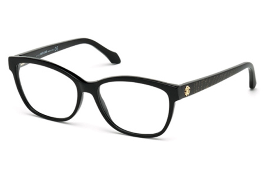 Roberto Cavalli RC0970 Sirrah Eyeglasses in 001 - Shiny Black