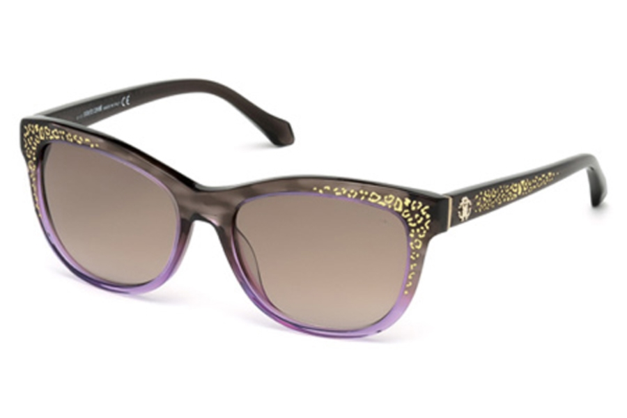 Roberto Cavalli RC991S Tsze Sunglasses in 50F - Dark Brown/Other / Gradient Brown