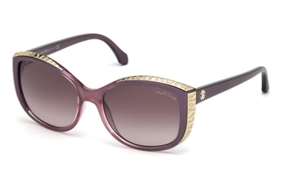 Roberto Cavalli RC1015 Yed Sunglasses in 83Z - Violet/Other / Gradient Or Mirror Violet