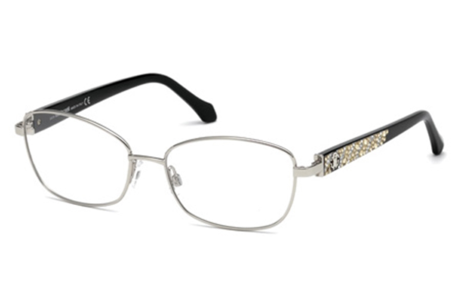 Roberto Cavalli RC5002 Abetone Eyeglasses in 016 - Shiny Palladium