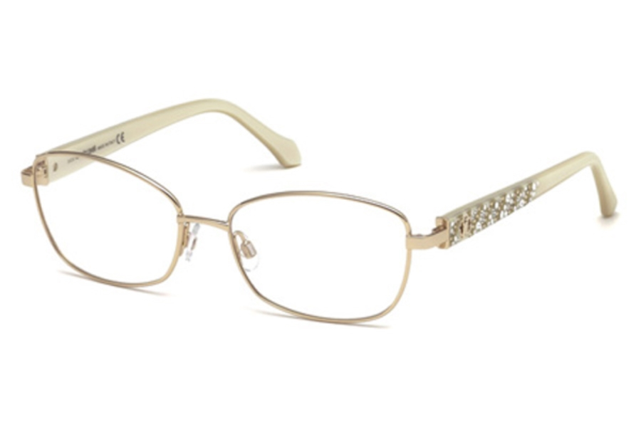 Roberto Cavalli RC5002 Abetone Eyeglasses in 028 - Shiny Rose Gold