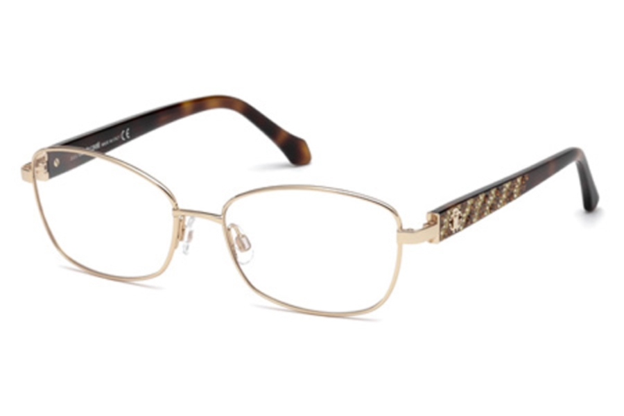 Roberto Cavalli RC5002 Abetone Eyeglasses in A28 - Shiny Rose Gold