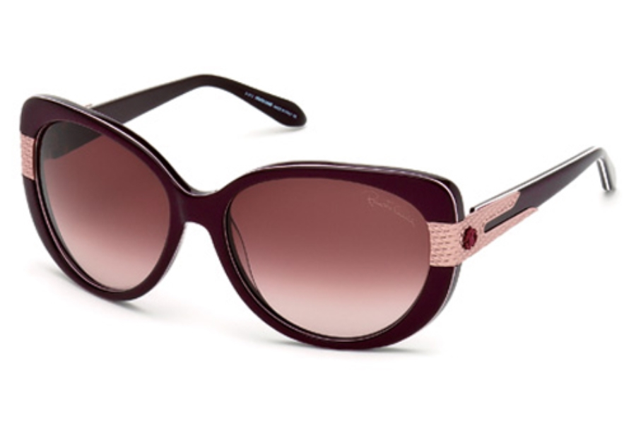 Roberto Cavalli RC745S Sunglasses in 83Z Violet/Other / Gradient Or Mirror Violet