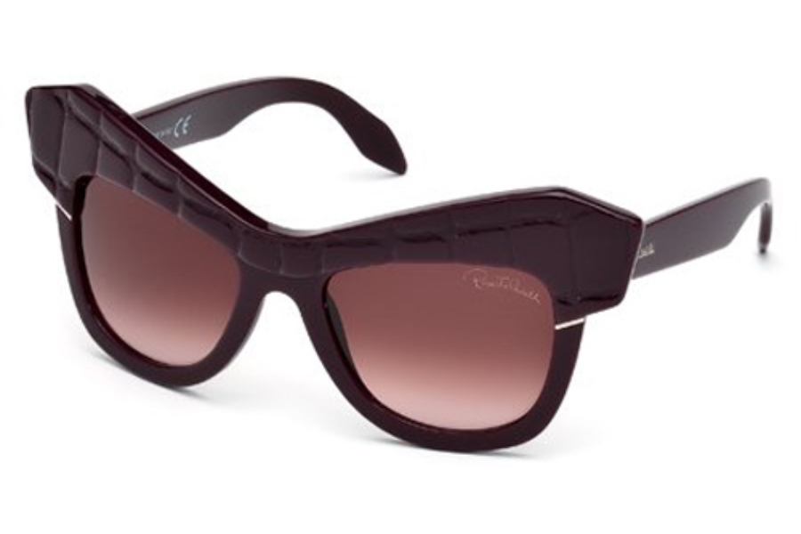 Roberto Cavalli RC750S WILD DIVA Sunglasses in 81Z Shiny Violet / Gradient Or Mirror Violet