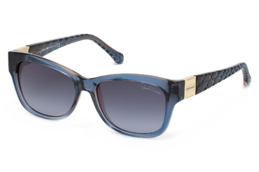 Roberto Cavalli RC785T Sunglasses in 92W Blue/Other / Gradient Blue