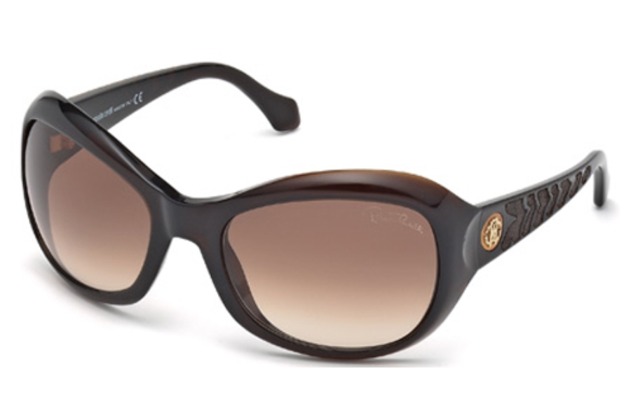 Roberto Cavalli RC794S Sunglasses in 50F Dark Brown/Other / Gradient Brown